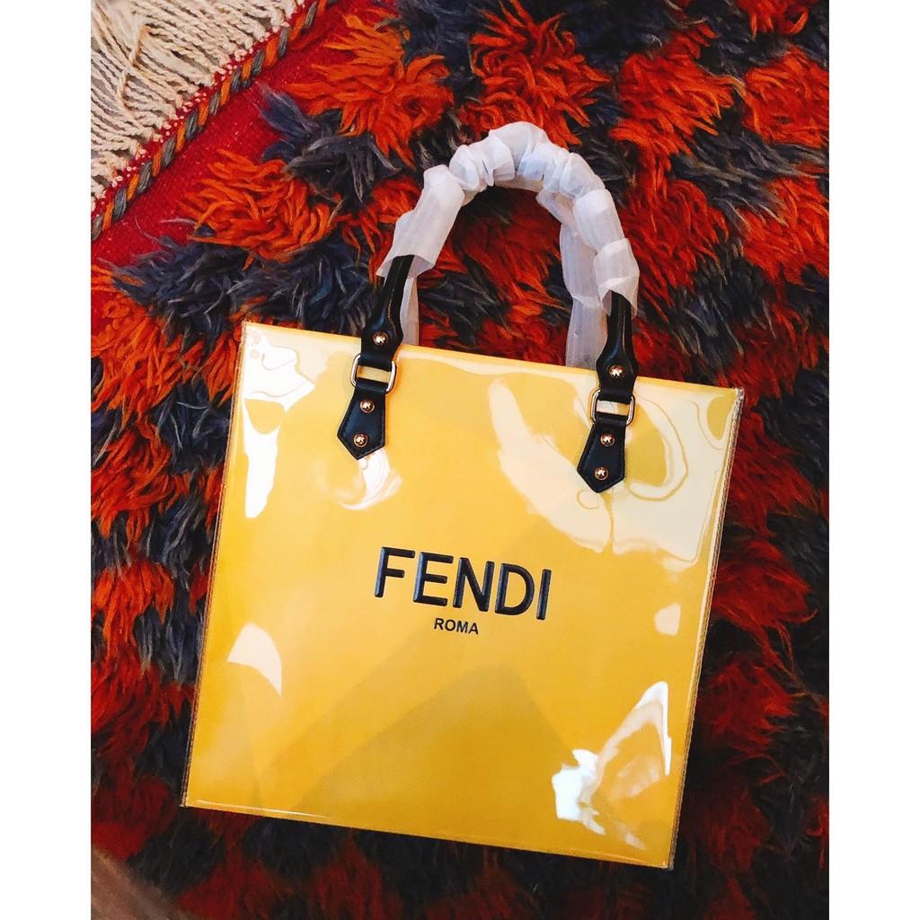 FENDI 改造紙袋包 成品