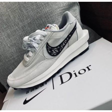 專櫃正品 AD-Nike x Sacai x Dior 聯名 20新款 白灰 休閒鞋 預購