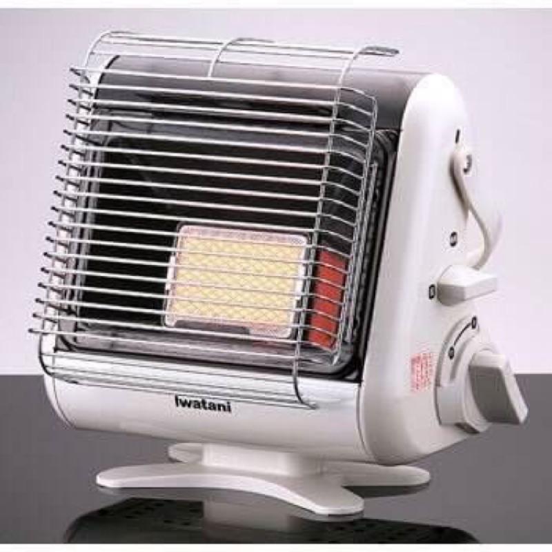 (免運)IWATANI 岩谷 CB-STV-MYD 卡式瓦斯 暖爐 輕量 免電 速暖 室內專用 露營用
