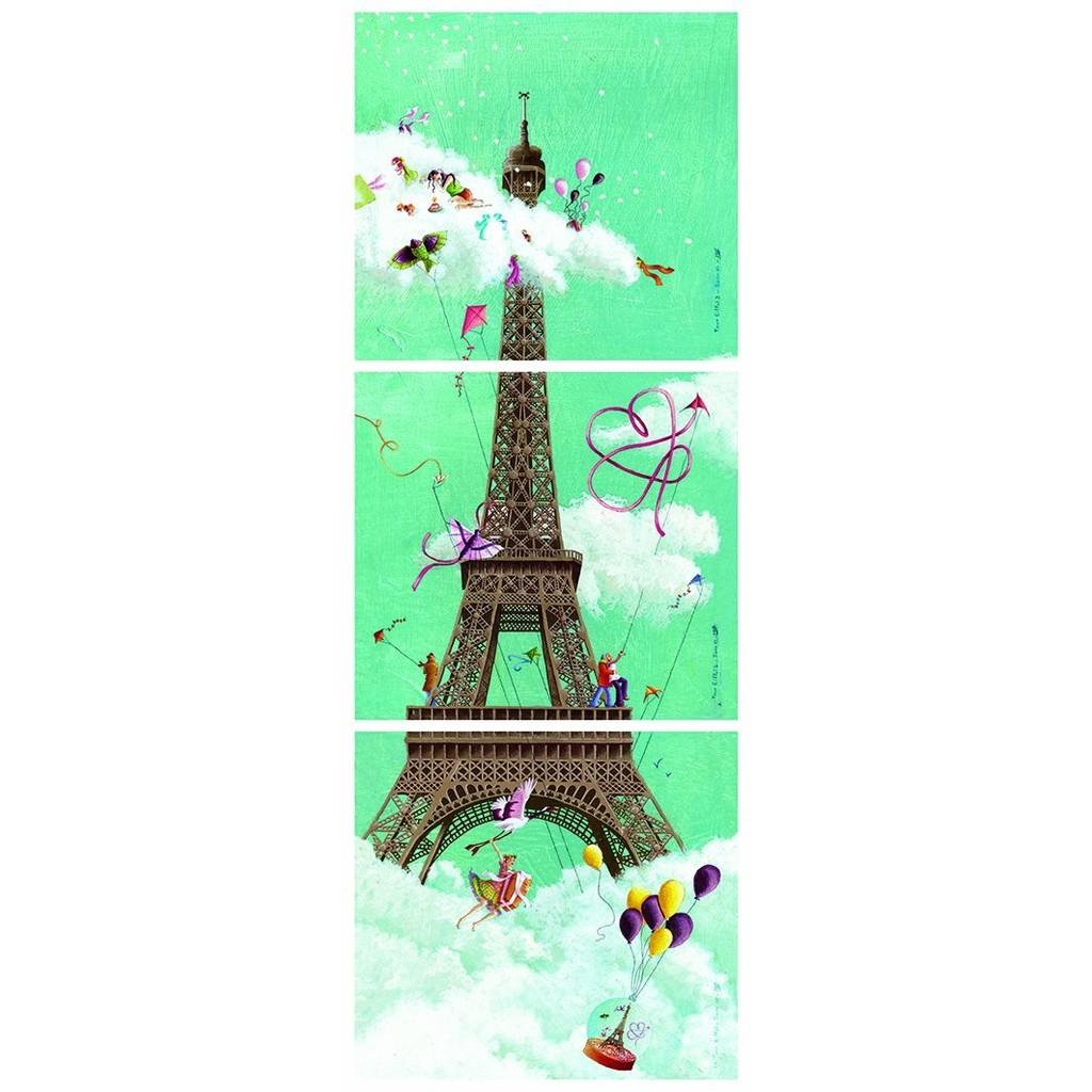 (現貨)法國nath拼圖——艾菲爾鐵塔(1000片)87612