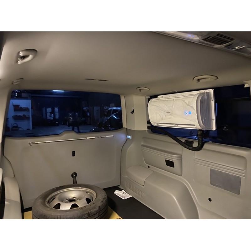 🚗 #駐車冷氣安裝 T4 T5 海爾24V 🚗