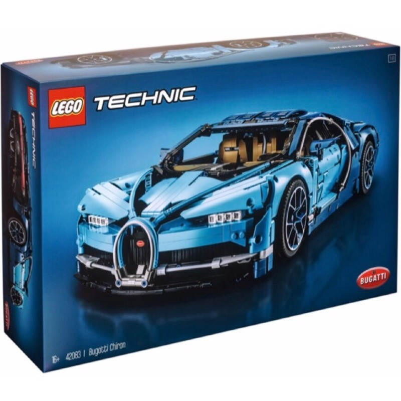 LEGO 42083 布加迪 Bugatti Chiron 動力科技系列【必買站】樂高盒組