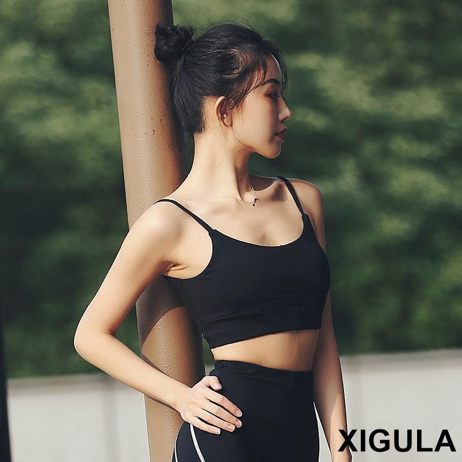 女士運動套裝 2020新款運動內衣女防震跑步背心女瑜伽健身背心運動文胸一件代發A15 A103