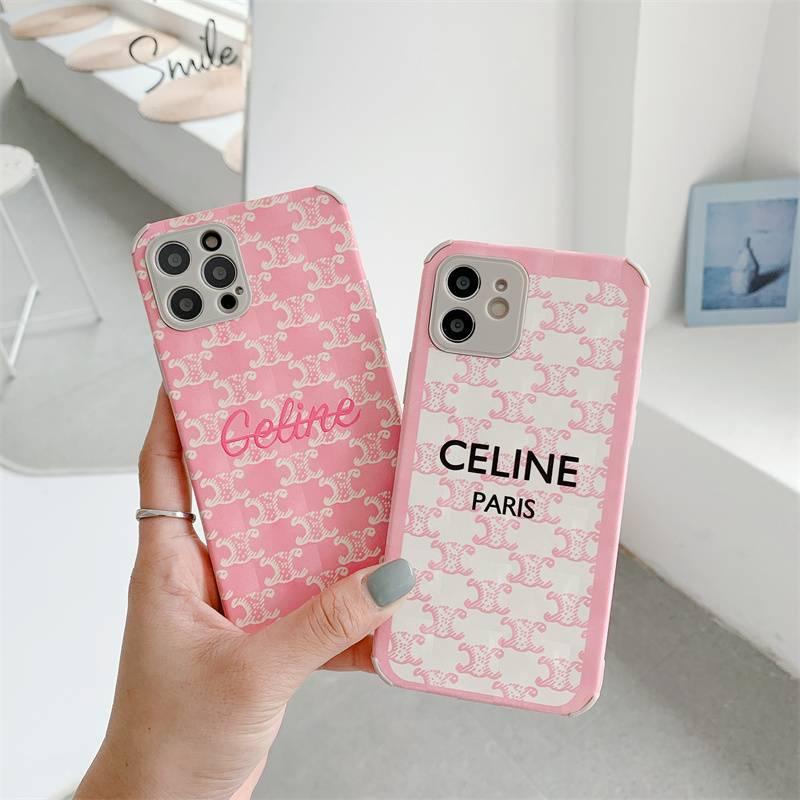 Celine 歐美 矽膠手機殼 賽琳 浮雕 防摔殼 IPhone 11 12 Pro XR XMAX I8 7plus