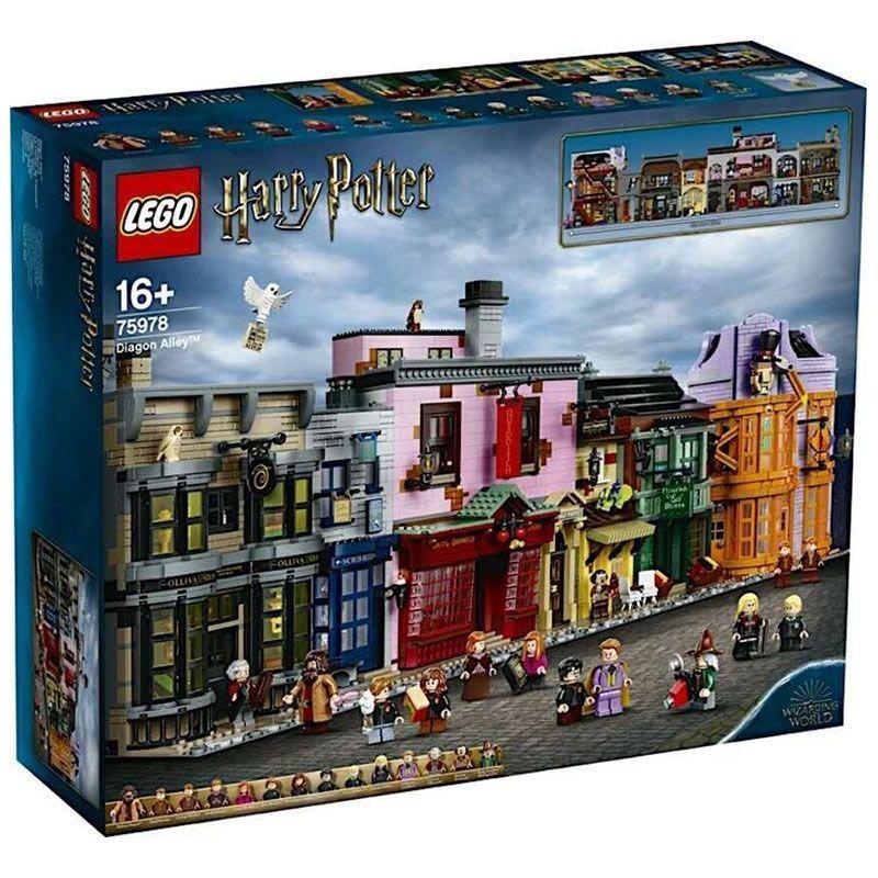 現貨 關注領券 樂高(LEGO)積木哈利波特系列積木 哈利波特對角巷75978 兒童玩具
