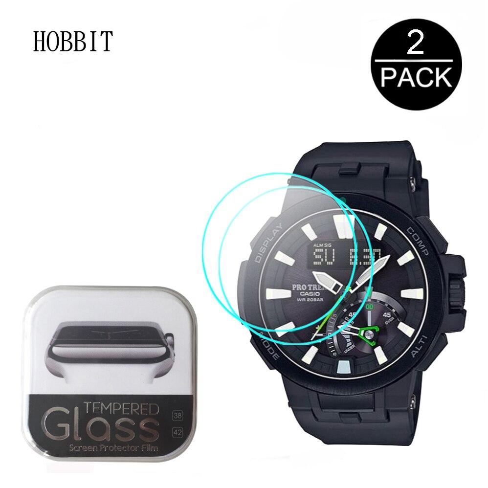 適用於 Casio Pro Trek Prw-7000 Prw-7000Fc Prw7000 手錶屏幕保護膜的 2pcs