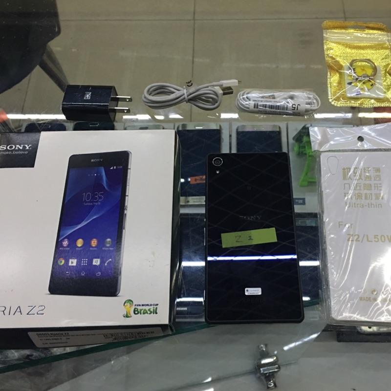 Sony Z2 5.2寸 16G 4G Lte 台灣公司貨 店保一個月 二手機 實體店