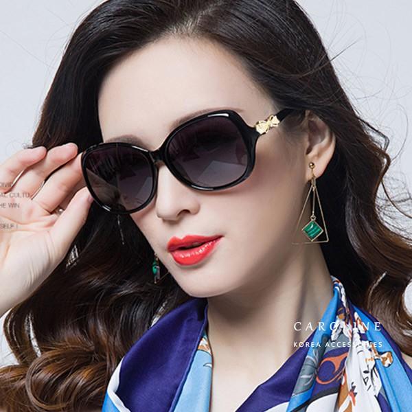 2色 年度最新網紅款抗UV太陽眼鏡 72186