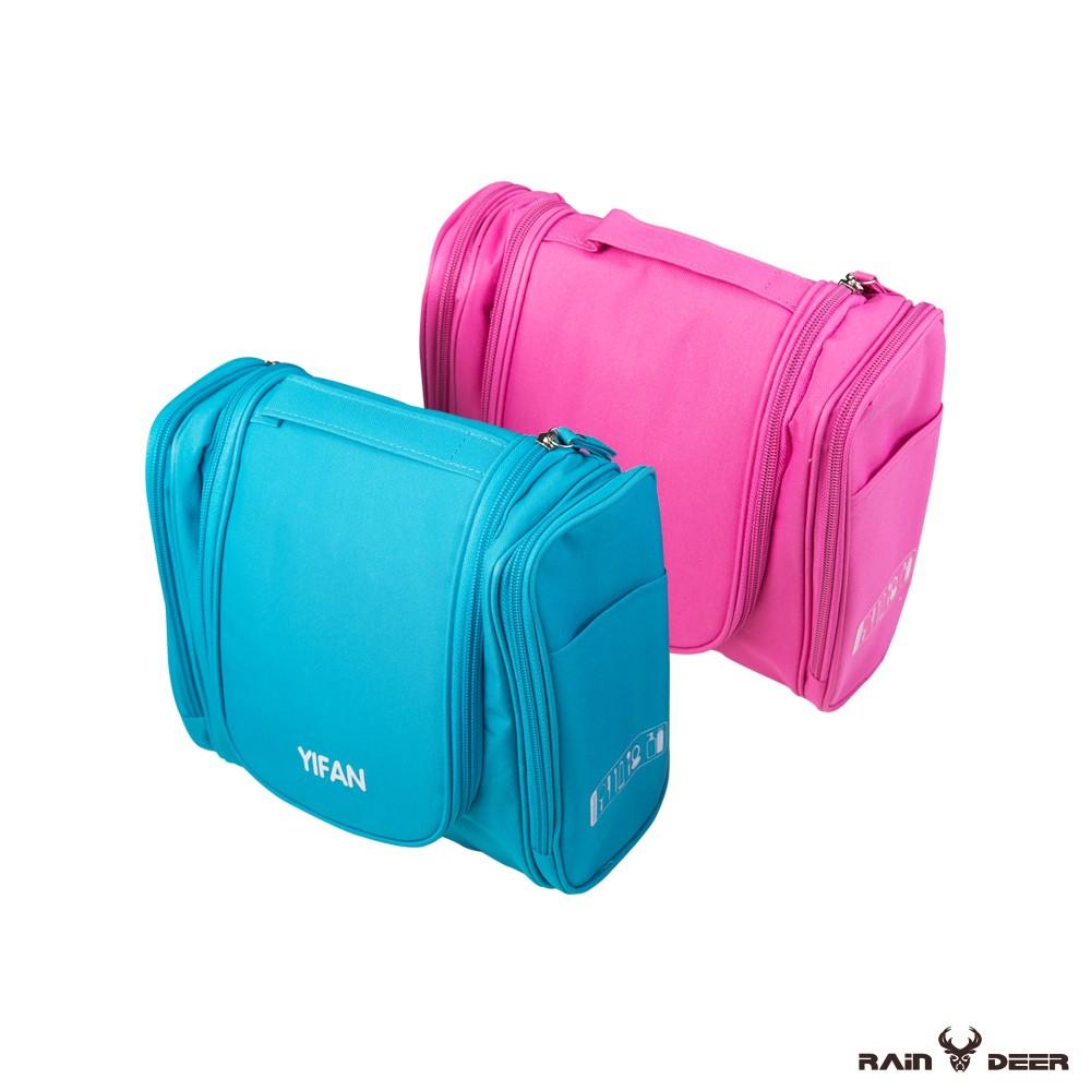 大容量立體旅行洗漱包 可掛式洗漱包 旅行洗漱包 防水收納包 化妝包盥洗包