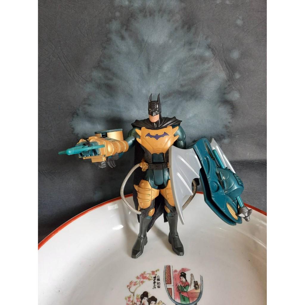 【約瑟夫的懷舊玩具屋】TM DC comics 裝甲蝙蝠俠 忍者風 付配件 絕版品 KENNER  BATMAN