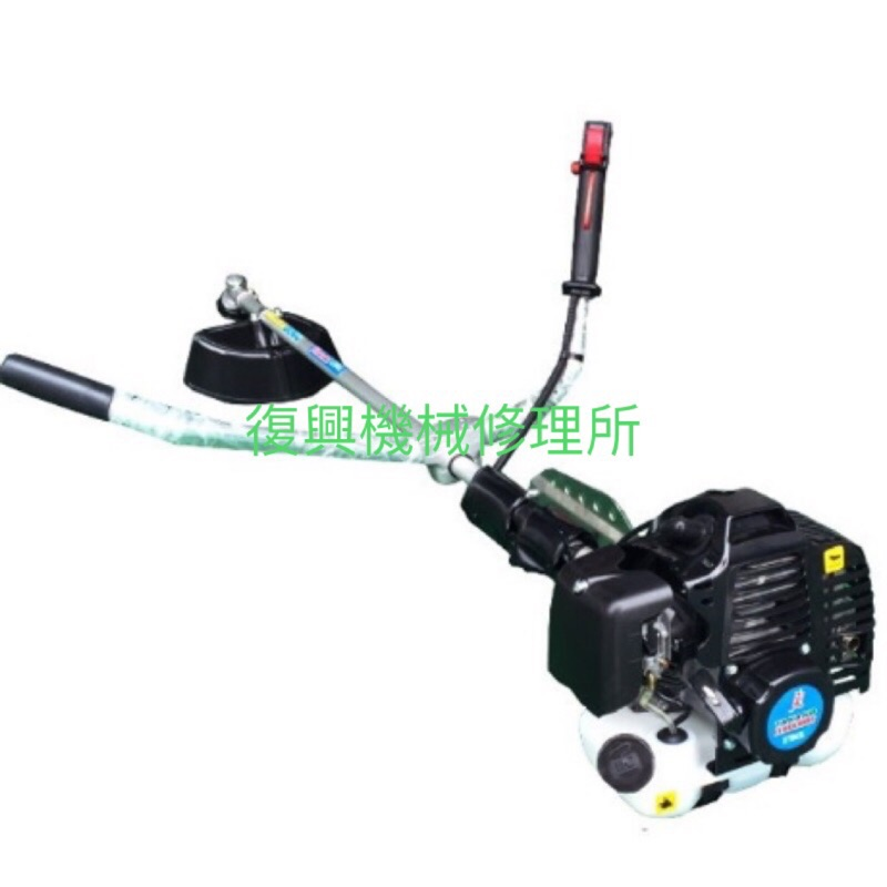 (復興機械修理所)TAKANO高野二行程硬管側背式引擎割草機43cc ETB43L(下油壺) 非三菱小松