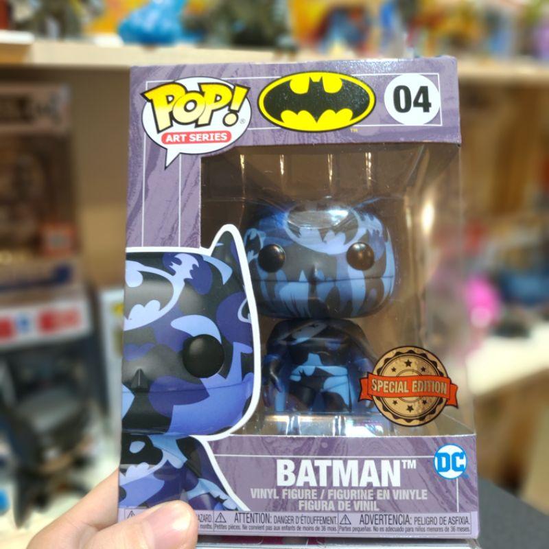 Funko POP 藝術家系列 No.04 Batman 蝙蝠俠 迷彩配色