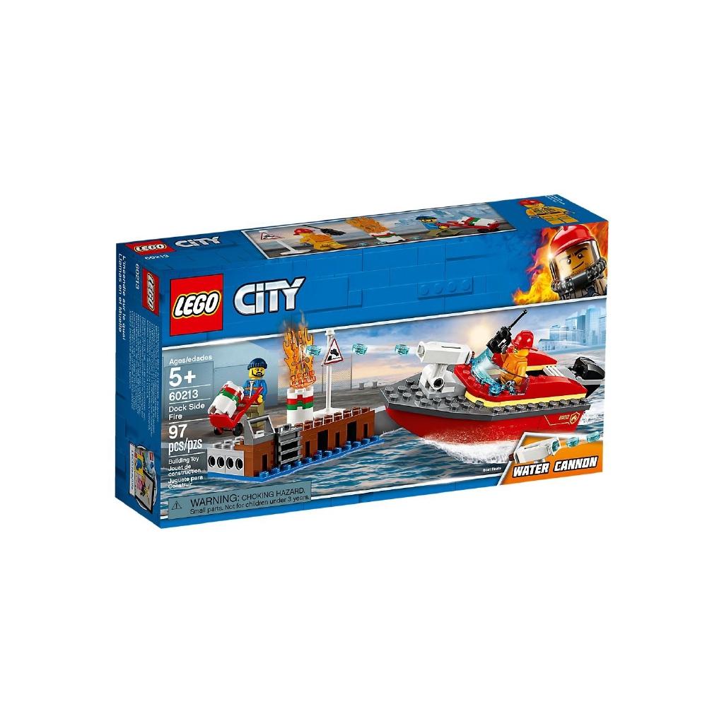 LEGO 樂高 60213 碼頭火災 City 城市系列