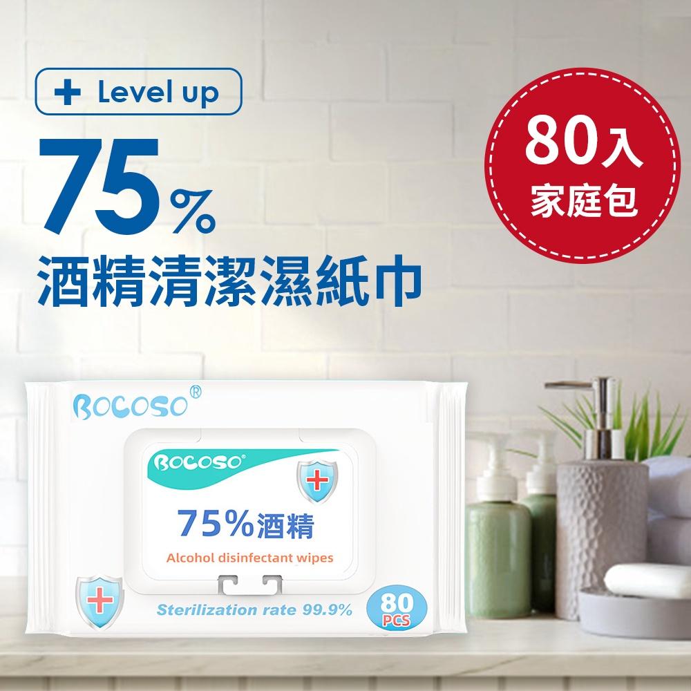 居家防護75%酒精濕紙巾 H2 濕紙巾