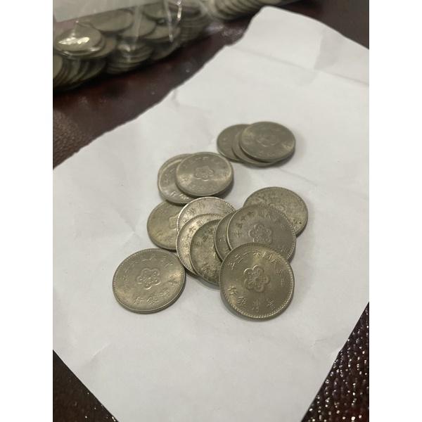 中華民國49、59、60、61、63、65、66、67、68年梅花壹圓硬幣/舊台幣/舊臺幣/壹元/一元/1元