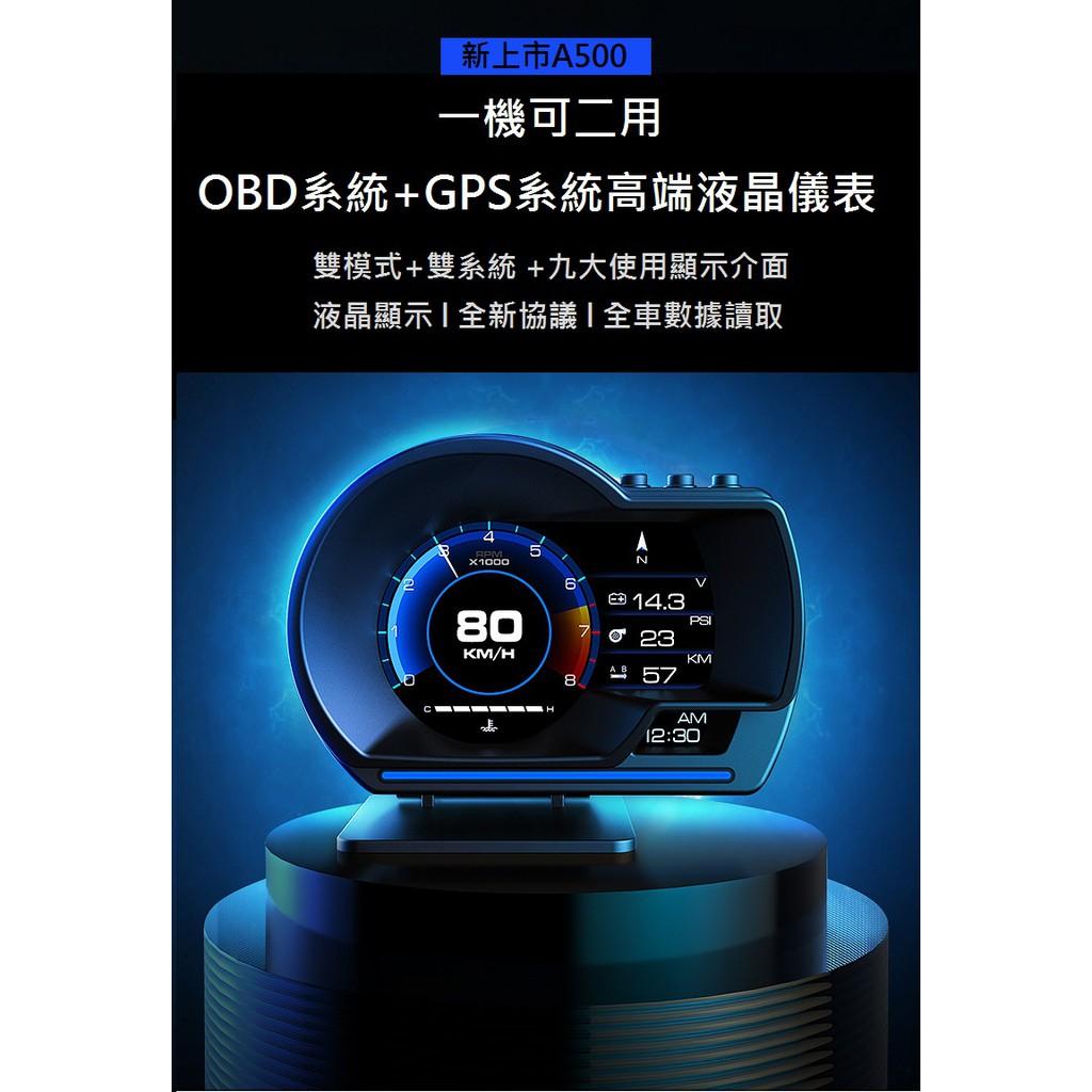 Mitsubishi Lancer Sportback Fortis 新款A500雙系統OBD+GPS HUD抬頭顯示器