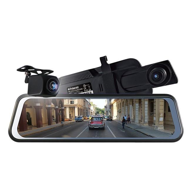 Polaroid 寶麗萊 DS962GS 星光夜視 雙鏡頭1080P 電子後視鏡 [送32G卡] (禾笙科技)
