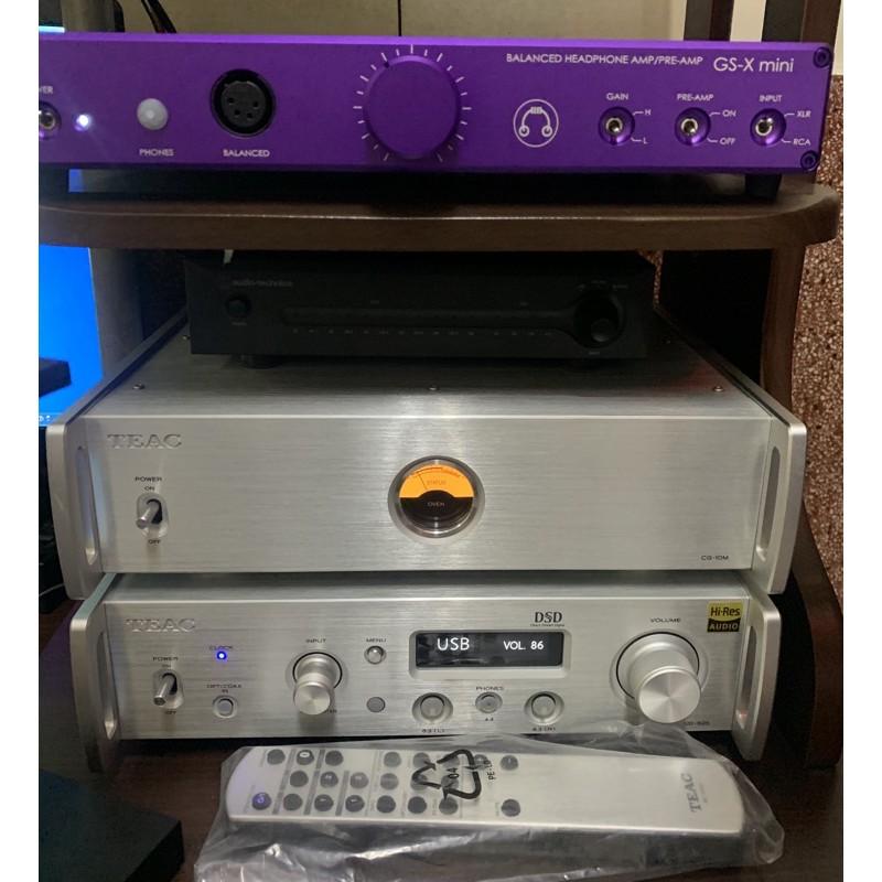 售TEAC UD-505 DAC、CG10M 時鐘,Headamp GS-x mini耳擴