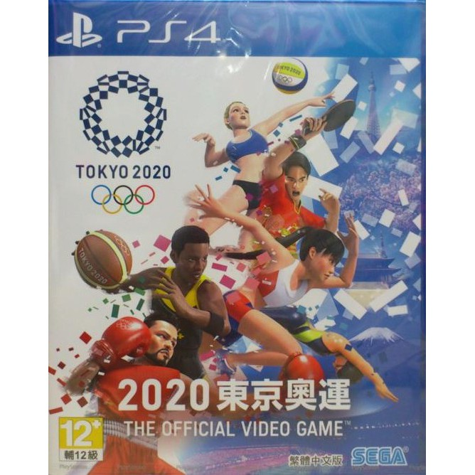 PS4遊戲 2020 東京奧運 The Official Video 中英文版