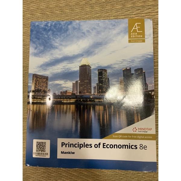 個體經濟學 個經 Principles of Economics(第八版)9成新