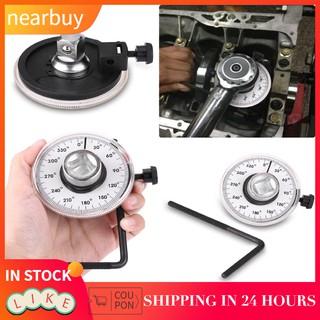1/ 2角扳手扭力驅動360工具英寸小車測量可調角度規