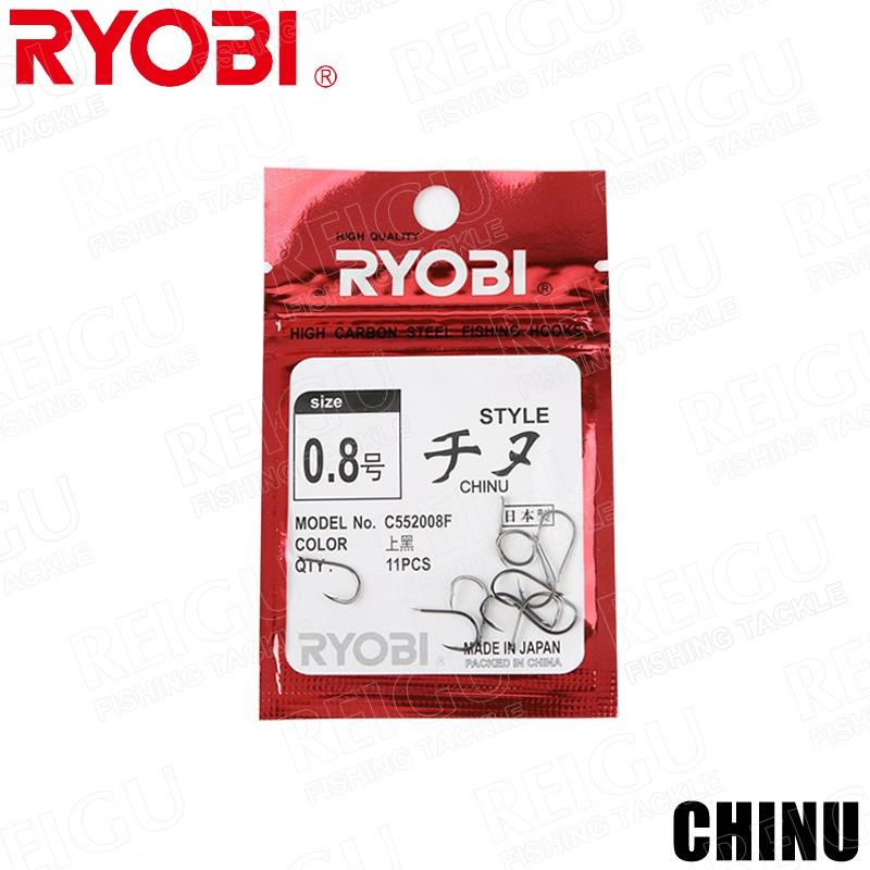 日本RYOBI 千又 CHINU 魚鉤 0.1#~8# 日本製 日本進口 Fishing Hooks