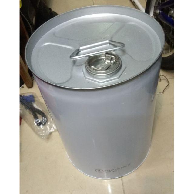 20L 小鐵桶  汽油桶  廢機油桶 鐵蓋 備油桶 二手 二個郵寄免運