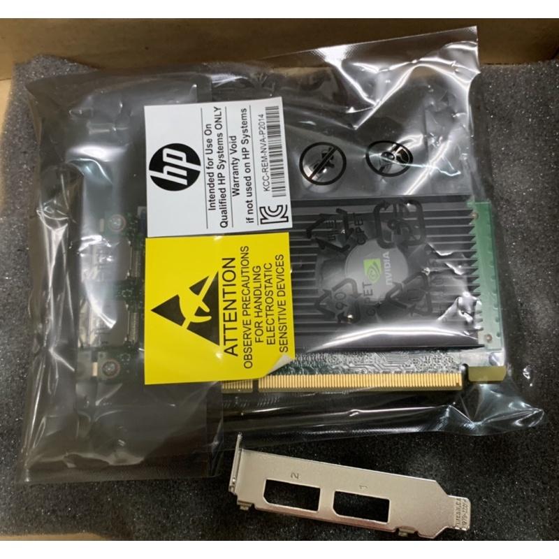 HP 工作站用 nVIDIA NVS 310 1GB 顯示卡 專業繪圖卡 雙DP 盒裝新品