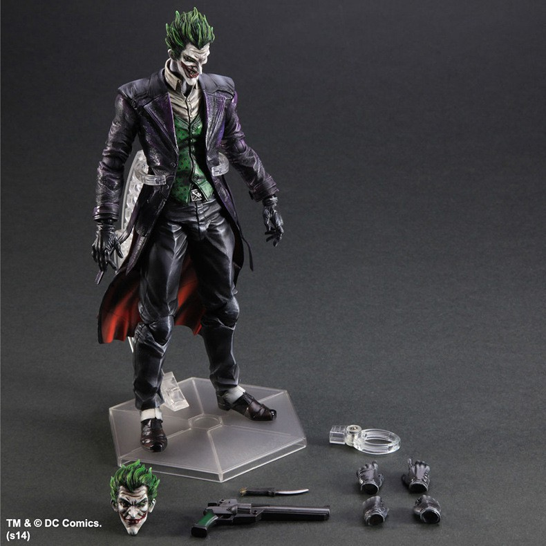 【現貨】【多米諾DOMINO】 Play arts PA改 小丑 Joker 蝙蝠俠 BATMAN DC英雄 黑