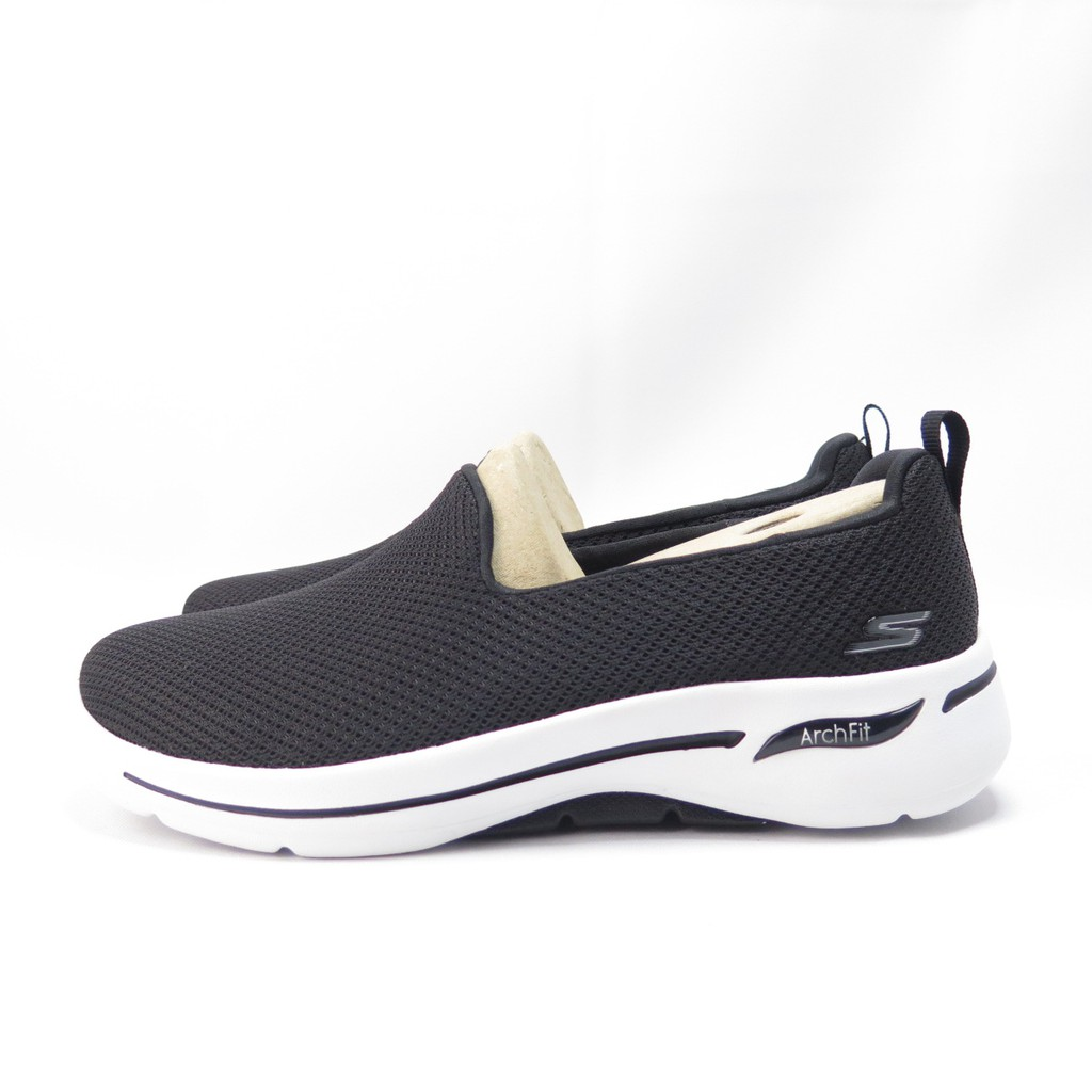 Skechers GO WALK ARCH FIT 休閒鞋 124401WBKW 女款 黑【iSport愛運動】