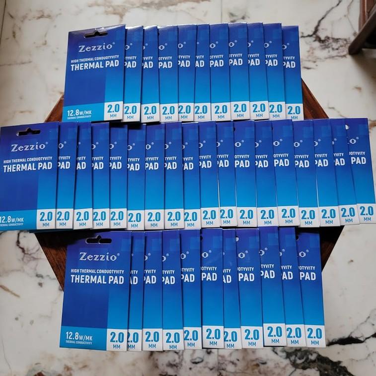 【現貨秒發】2.0MM 美國 ZEZZIO THERMAL PAD 導熱貼 散熱片 顯卡3080 3090散熱解決方案