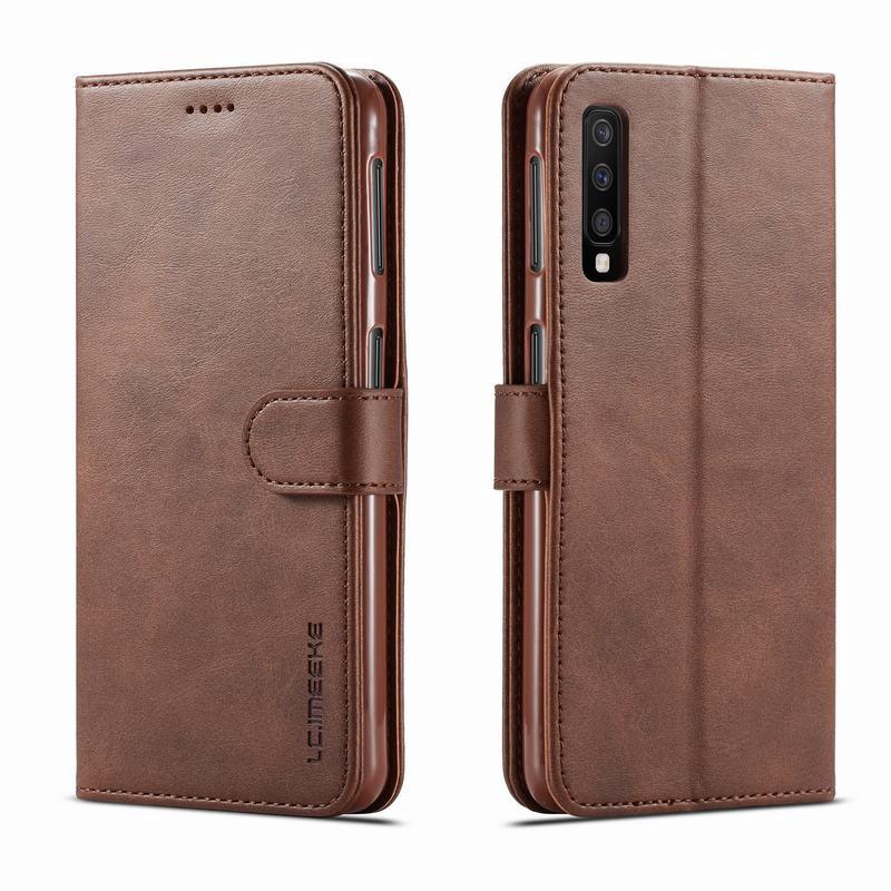 適用於 Samsung Galaxy A50 Case 皮套翻蓋錢包磁性保護套