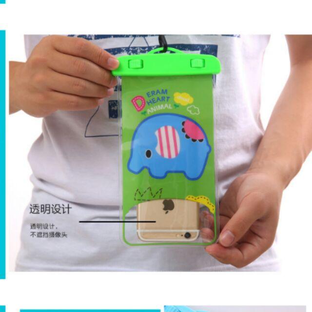 【現貨】海灘 玩水必備 手機 防水袋 特殊防水扣 防水百分百 6吋以下適用$118材質佳
