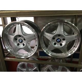 BMW 5孔120 17吋鋁圈 ET40 8J 3系列適用 非原廠 台南市