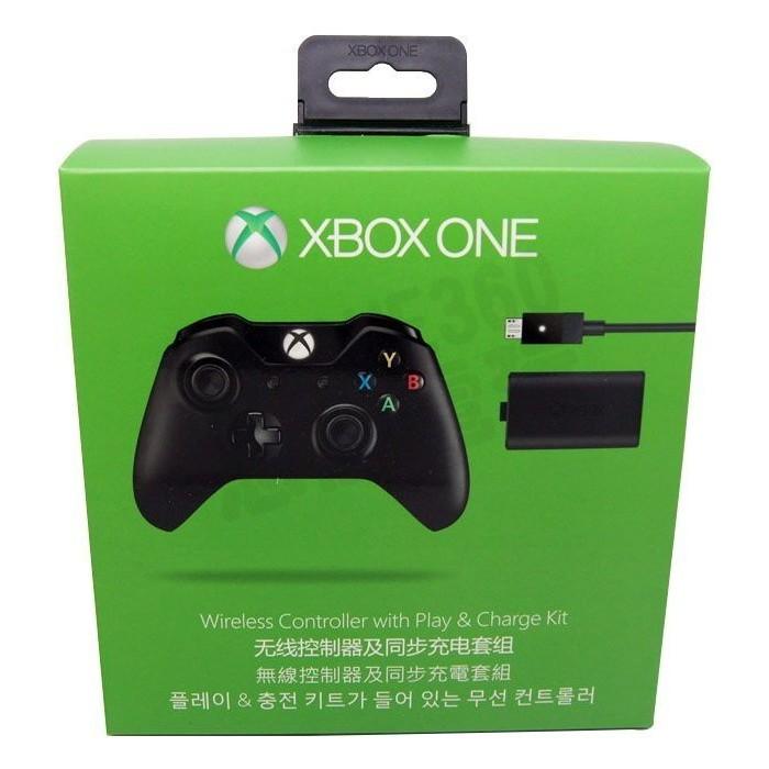 微軟 XBOXONE XBOX ONE 原廠無線控制器 手把 3.5MM耳機孔 同步充電套件組 黑色 公司貨 台中恐龍