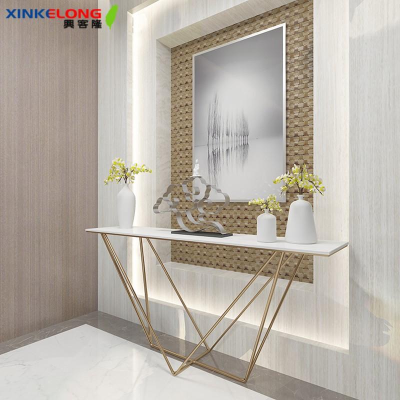 興客隆 玄關桌 簡約 現代 大理石桌 裝飾 玄關臺 北歐 輕奢 傢俱 1355