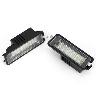2Pcs 通用 12V 18 LED 車號牌照尾燈燈燈泡,  用於大眾高爾夫 4 5 6 7 6R 帕薩特 B6 Lupo