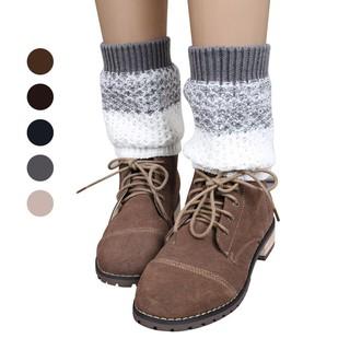 kami 2015提花針織腿襪襪子靴套