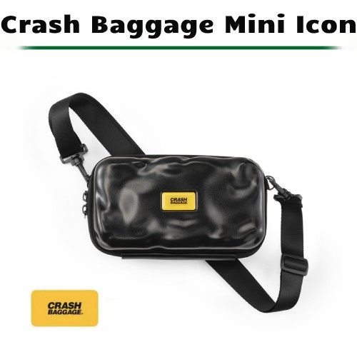 [原廠公司貨] 義大利 Crash Baggage Mini Icon 隨身包 (黑)