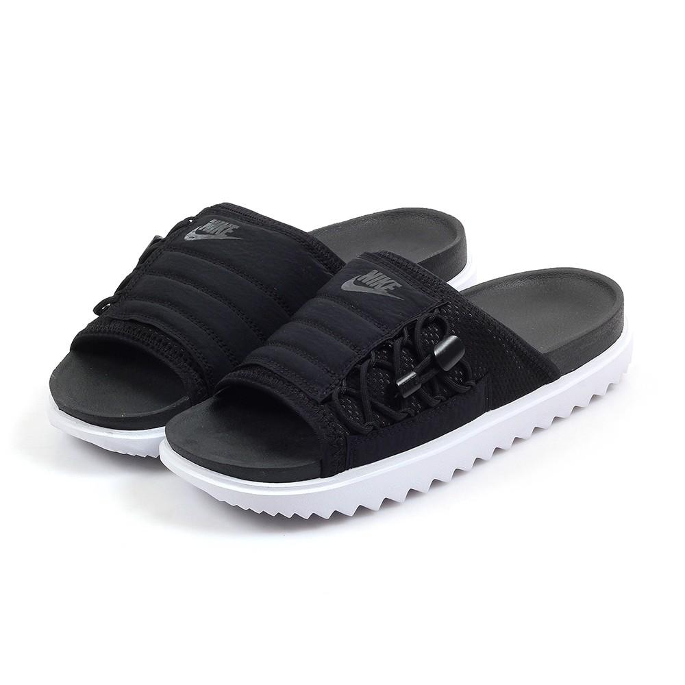 NIKE ASUNA SLIDE 男女 黑白 休閒 麵包 運動拖鞋 CI8799-003