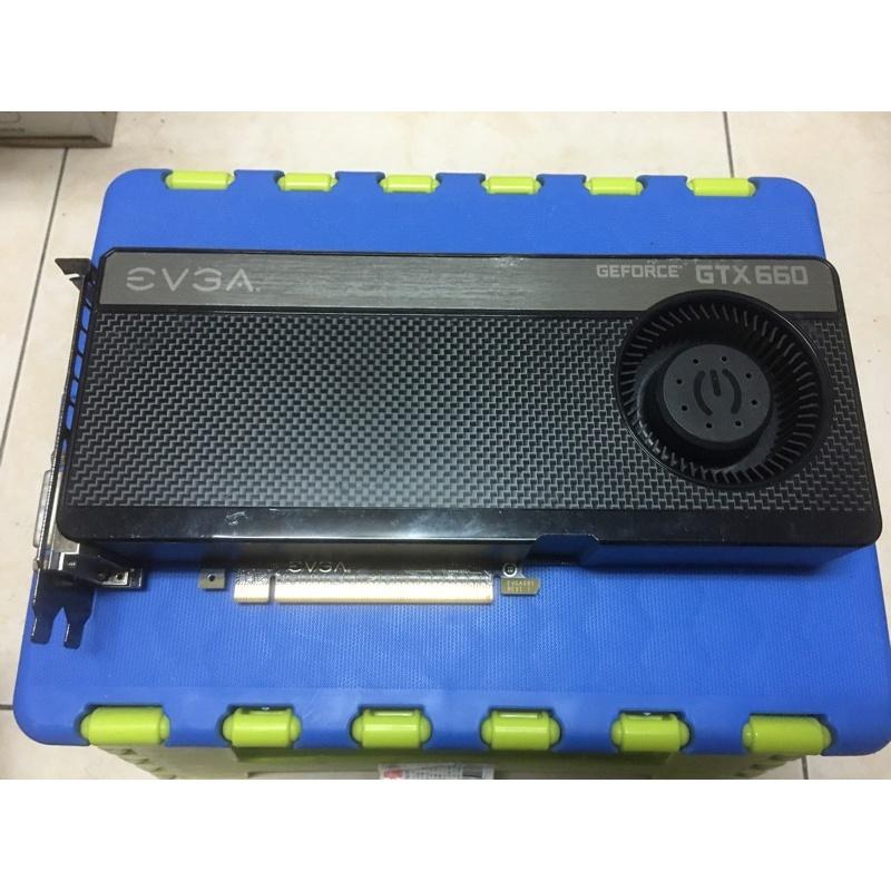 艾維克 EVGA Geforce GTX660 DDR5 2G 效能勝GTX750ti