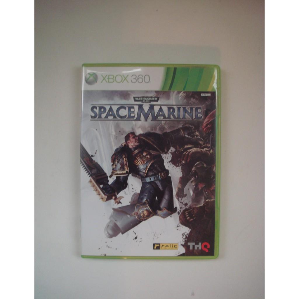 XBOX360 戰鎚 殺無雙 space marine (滿好玩)
