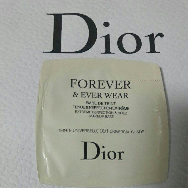 💋全新Dior專櫃正品🌟迪奧 超完美持久飾底乳#001 1ml✔試用包