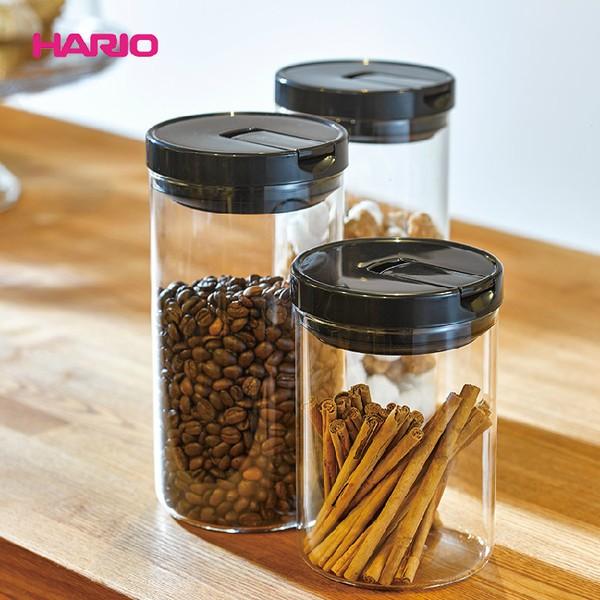HARIO 玻璃密封罐 咖啡豆儲存罐1000/800ml