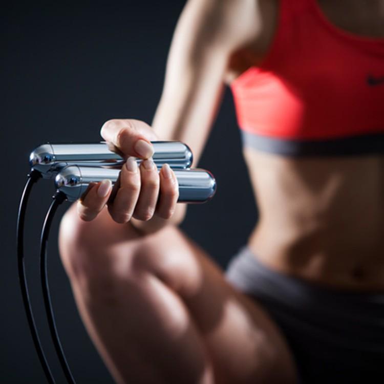 精品韓國進口Smart Rope Led空氣屏顯計數藍牙智能跳繩健身六軸傳感器