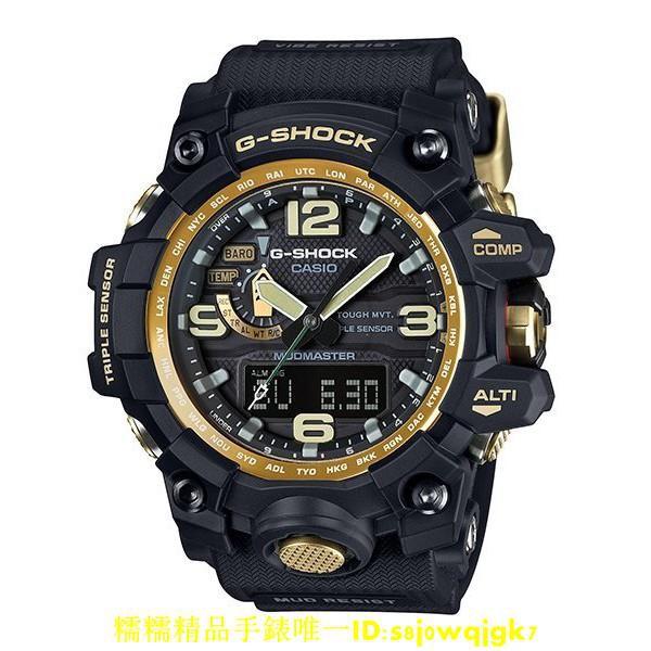 CASIO 卡西歐 G-SHOCK GWG-1000GB 極限 防泥 黑金 GWG 1000