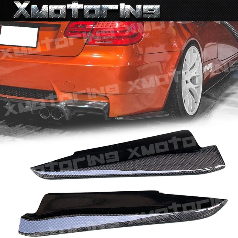 XM碳纖維精品 BMW E92/E93 M3 專用 後保桿定風翼 碳纖維 空力套件 卡夢 正M3專用 後保定風翼