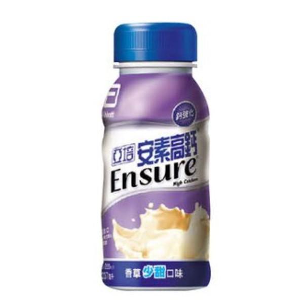亞培 安素高鈣 香草 少甜 237ml 24入/箱 免運