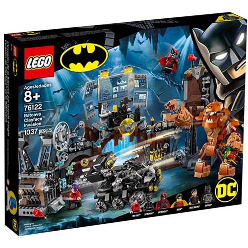 LEGO樂高積木 - 超級英雄系列 76122 蝙蝠洞:泥面人的邪惡入侵