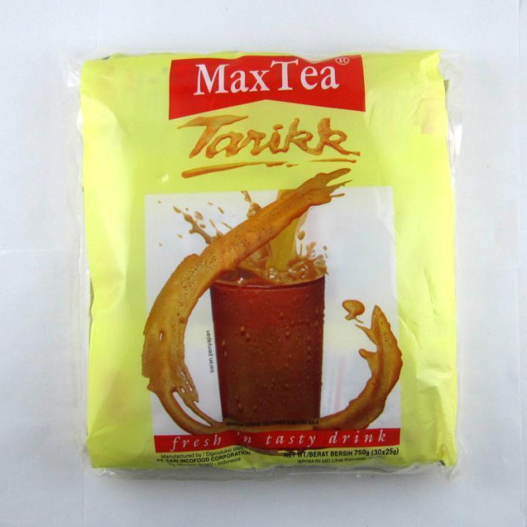 印尼 Max Tea 檸檬紅茶/MaxTea 印尼奶茶30包/袋